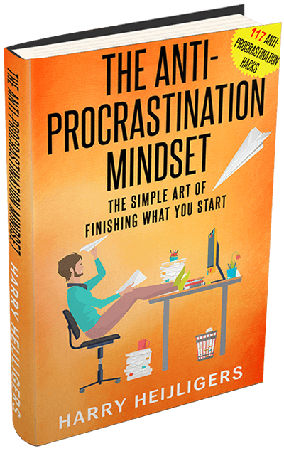 The Anti-Procrastination Mindset Book