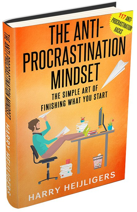 The Anti-Procrastination Mindset Book Cover