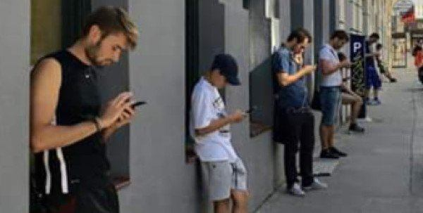 Cell phone addiction