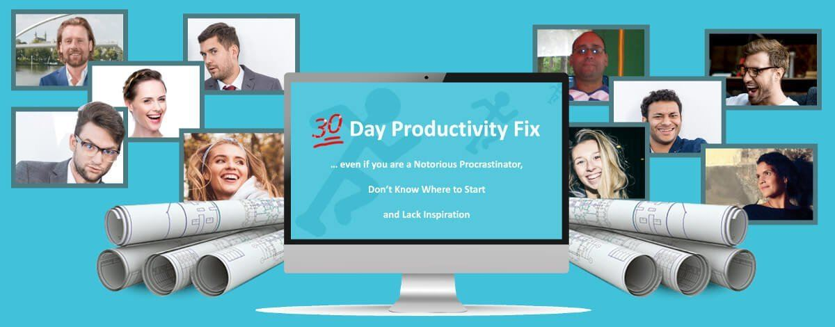 30 Day Productivity Fix - Double Your Productivity in 30 days