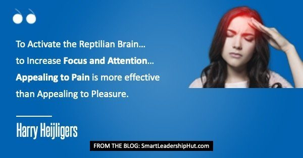 Reptilian_Brain - Quote about Pain vs Pleasure