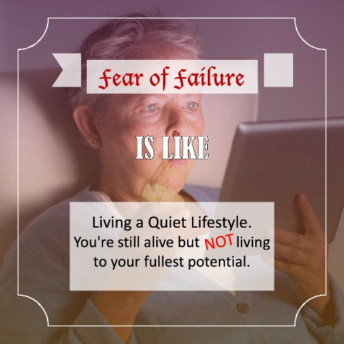 Fear of failure - Quote 1