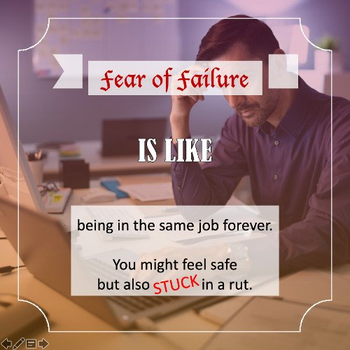 Fear of failure - Quote 2
